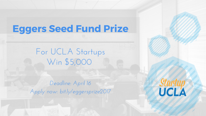 Apply for the 2017 Barry and Meredith Eggers Seed Fund Prize