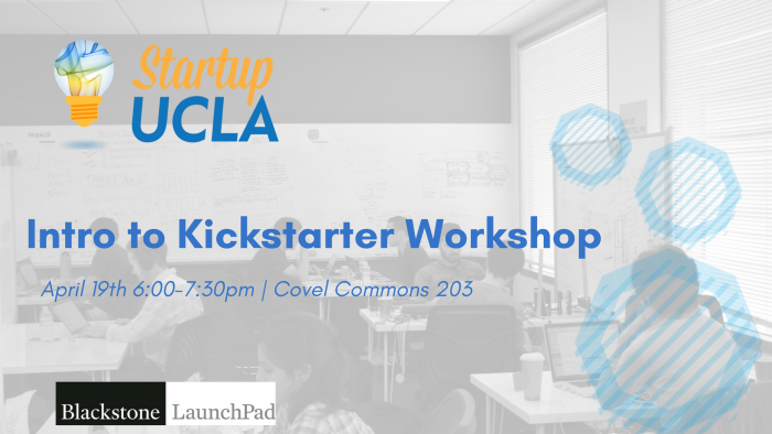 Intro to Kickstarter Workshop