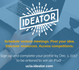 Our new entrepreneurship platform, Ideator, and chance to win an iPad!