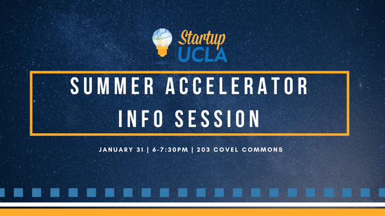 Summer Accelerator Info Session