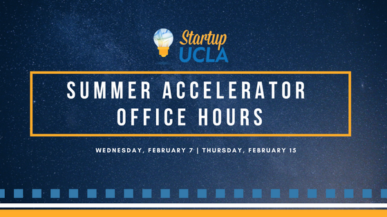 Summer Accelerator Office Hours
